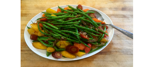 Rainbow Carrots And Verts